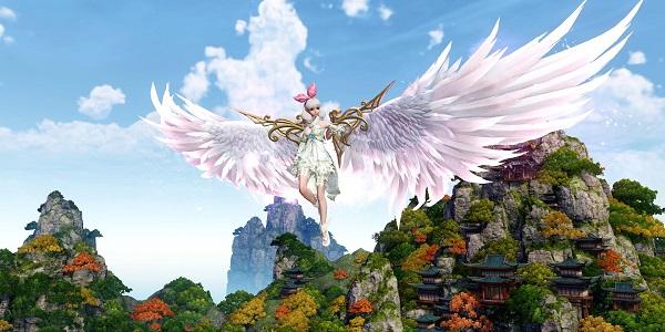 羽翼造型丰富的仙侠游戏