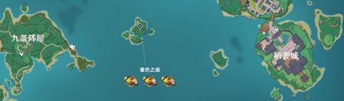 原神稻妻地圖boss及周常本一覽