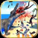 鳄鱼模拟器海滩狩猎