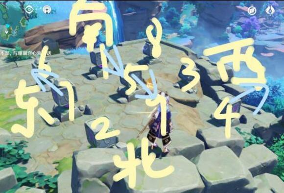 原神珊瑚宮寶箱解謎任務完成步驟