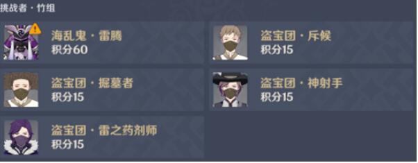 原神百人一揆活動陣容推薦攻略