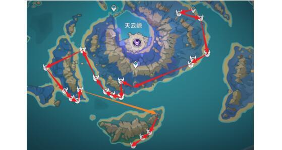 原神浮游核刷新位置大全
