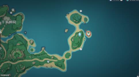原神鶴冠島世界挑戰點位置詳解