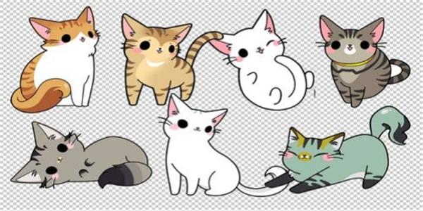 可爱的猫咪题材游戏