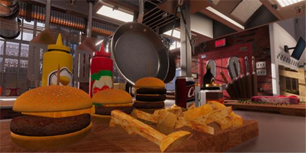 模拟厨房烹饪游戏