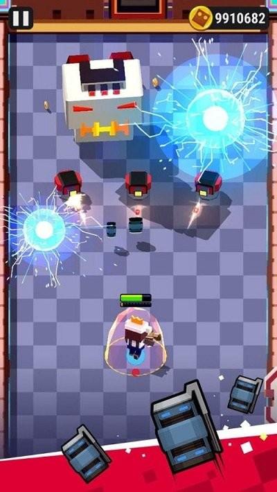机器人炸弹射击截图