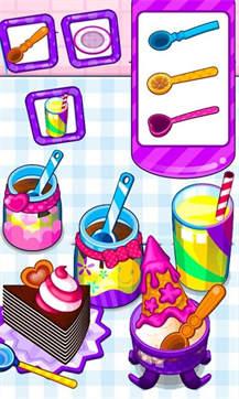 甜点制作食谱截图