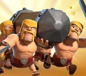部落冲突5周年限时活动 野蛮人攻城槌疯狂冲撞