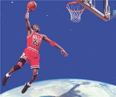 谁能代表NBA 最强NBA酷玩酷玩手游世纪对抗乔丹VS威少