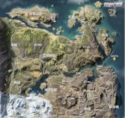 荒野行动新地图资源分布一览 抢先一步了解