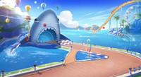 狂鯊水世界跑法攻略
