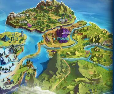我的起源大世界版圖揭曉 一同探索世界的盡頭