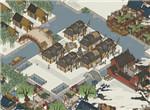江南百景图三座城市资源及人员规划方式