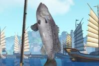 天谕手游黑鲈鱼在什么位置