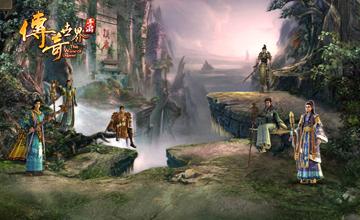 《傳奇世界手游》復古區公測宣傳視頻